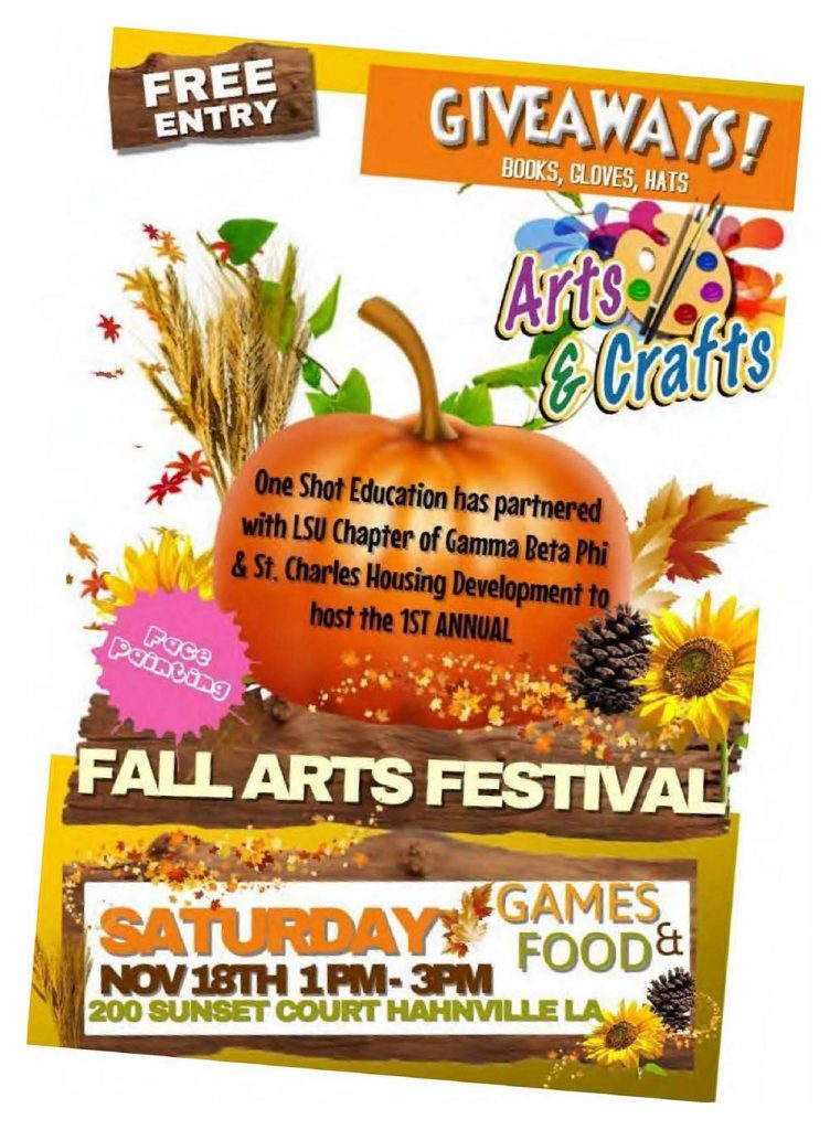 Fall Arts Festival in Hahnville